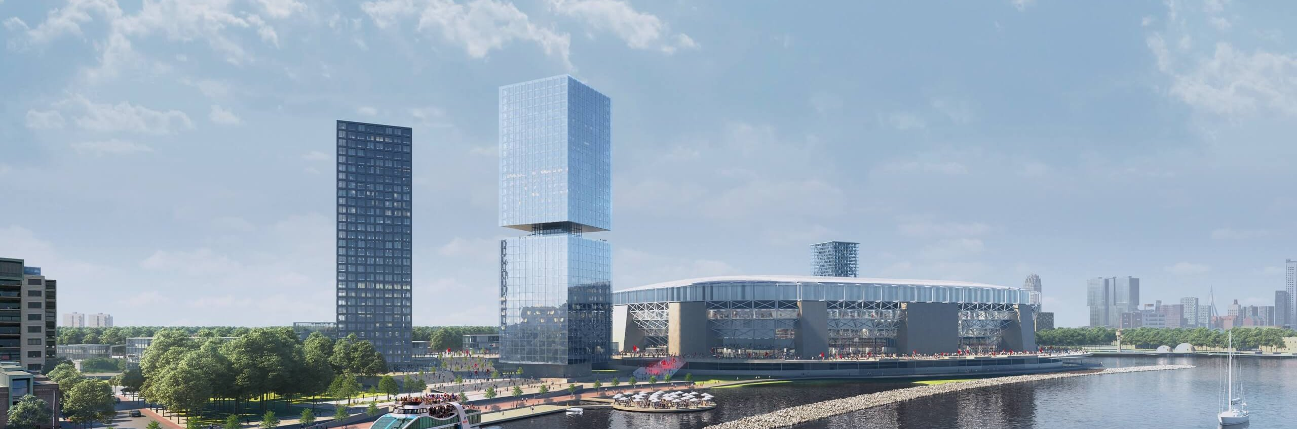 Belangrijke stap binnen Feyenoord City: akkoord over uitplaatsing TLR