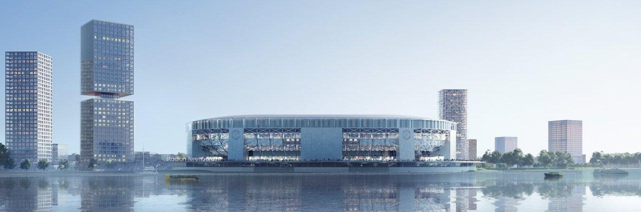 Groen licht voor de volgende stap uit Stadionplan Feyenoord